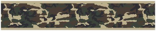 Green Camo Army Camouflage Baby Kids and Teens Wall Paper Border by Sweet Jojo Designs *** For more information, visit image link.Note:It is affiliate link to Amazon.