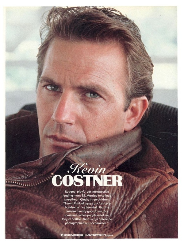 Kevin Costner forever the man you wished was looking at you...