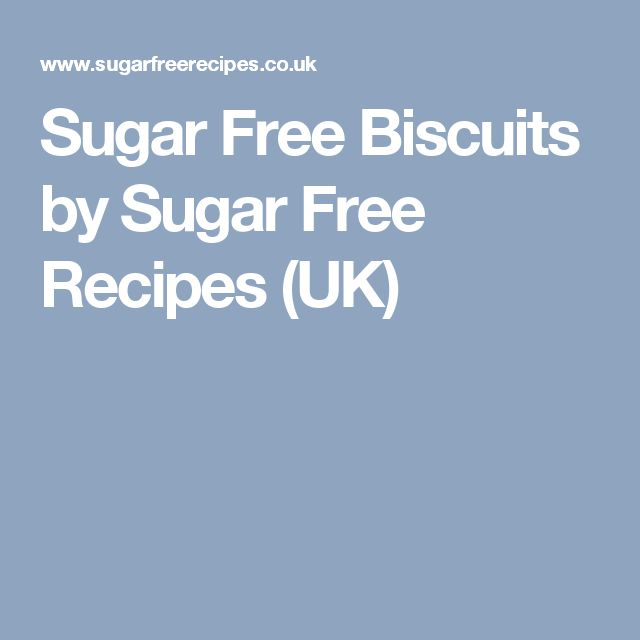 Sugar Free Biscuits by Sugar Free Recipes (UK)