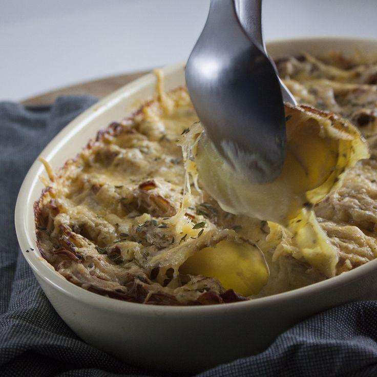 Aardappelgratin | gekookt in heerlijk kruidige room met een crunch van jouw favoriete kaas!