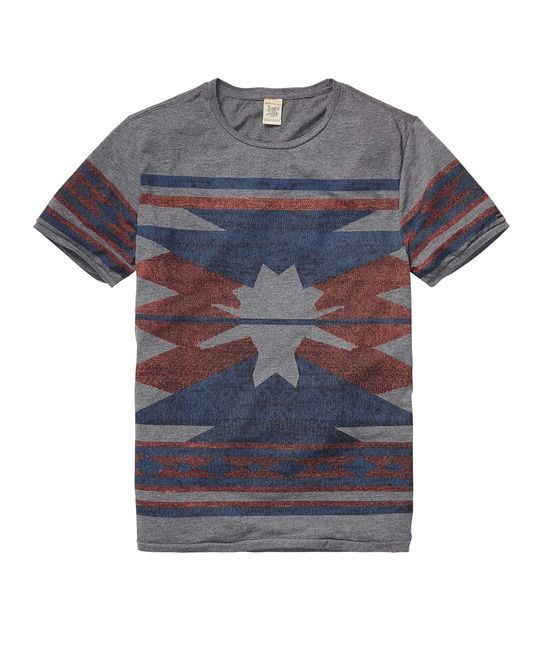 Yarn Dyed Intarsia Tee > Mens Clothing > T-shirts at Scotch & Soda