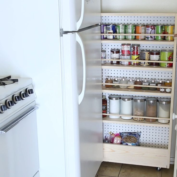Hidden Kitchen Pantry…
