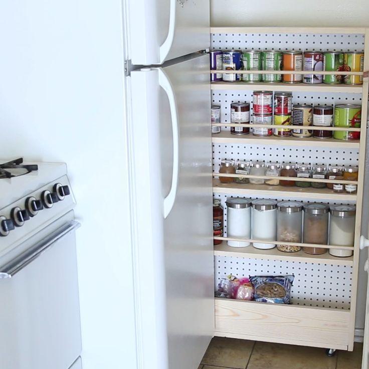 Hidden Kitchen Pantry