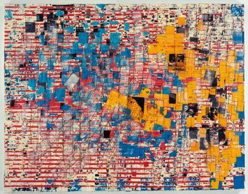 Mark Bradford, Disappear Like a Dope Fiend (2006): Sikkema Jenkins