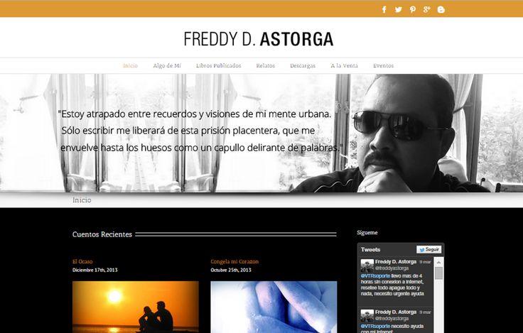 Sitio Web Escritor: Freddy D. Astorga www.freddyastorga.com