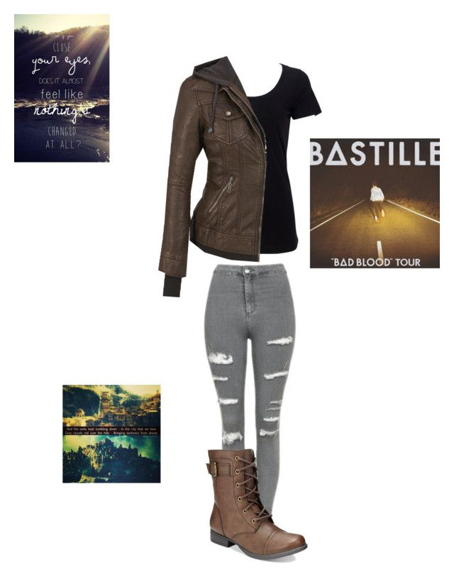 """Pompeii inspired outfit"" by statice-pearl on Polyvore featuring Simplex Apparel, Coalition LA, Topshop and American Rag Cie"