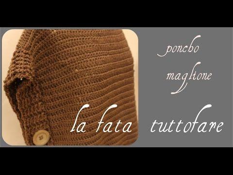 Tutorial: poncho maglione