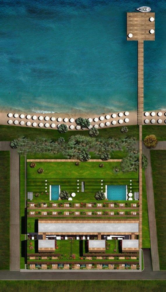 7800 Çeşme Residences and Hotel by Emre Arolat Architects