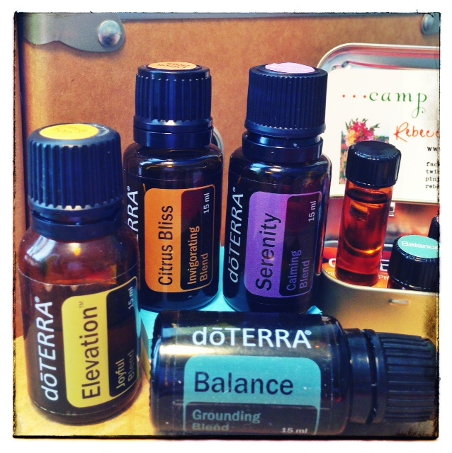 The Mood Matrix ~ How 4 Essential Oil Blends Lend Emotional Support