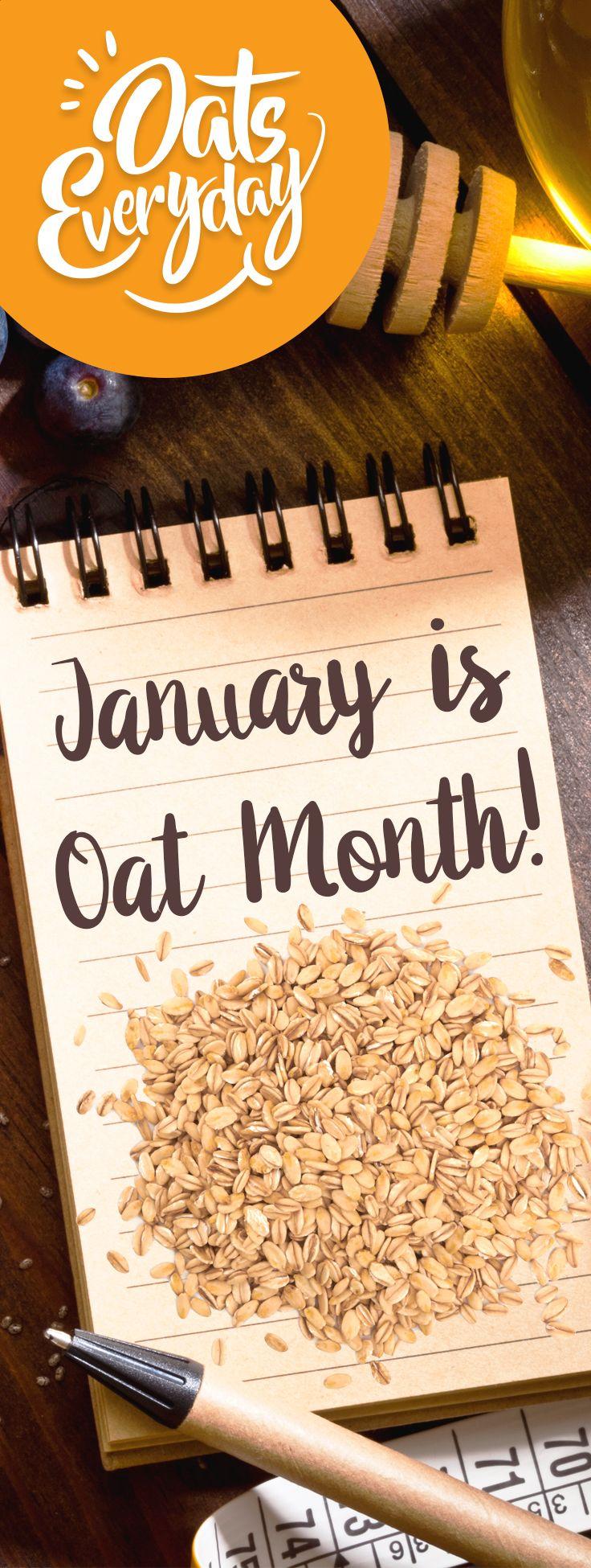"""Become an """"oatspert"""" at OatsEveryday.com"""