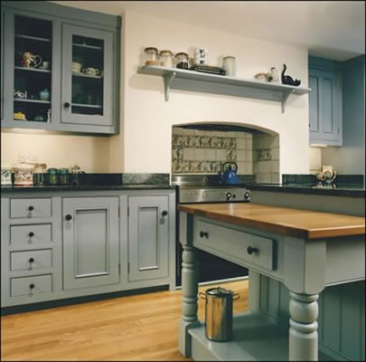 1000 ideas about blue grey kitchens on pinterest blue for Duck egg blue kitchen island
