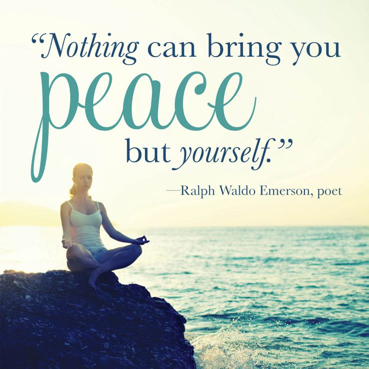 """nothing can bring you peace but yourself essay """"nothing can bring you peace but yourself"""" – ralph waldo emerson from his """"self reliance"""" essay, emerson was an american essayist, philosopher, poet, and leader of the transcendentalist movement in the early 19th century."""