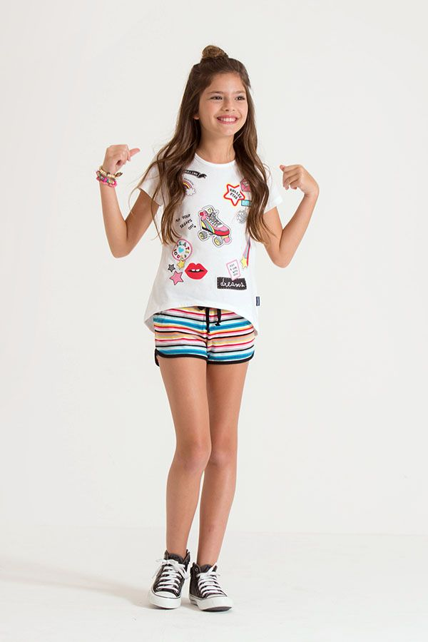 Moda primavera verano 2018 ropa para niñas.