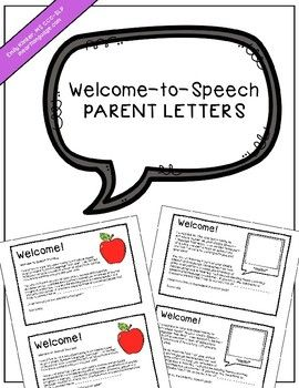 The 25 best parent welcome letters ideas on pinterest preschool welcome to speech parent letters spiritdancerdesigns Choice Image