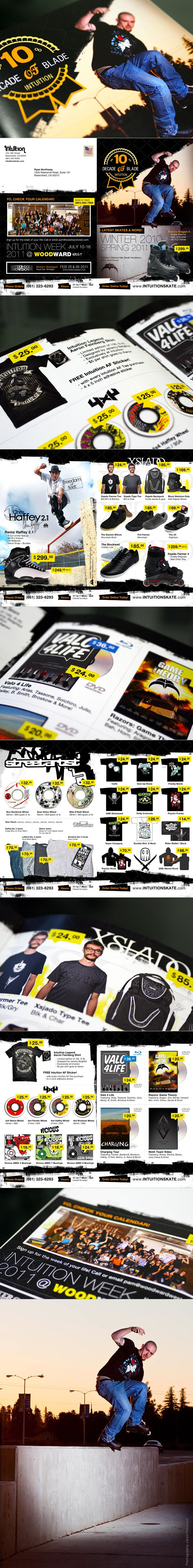 Intuition Skate Catalog