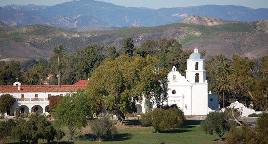 """#TodayInCAHistory: On June 13, 1798, Mission San Luis Rey de Francia was founded by Father Fermin Lasuen. Located near what is today Oceanside in San Diego County, the mission was considered to be """"the king of the missions"""" due to its large size and wealth."""