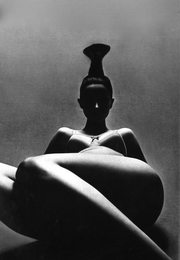 Model Eva, 1969  Photo by Guy Bourdin, Paris Vogue