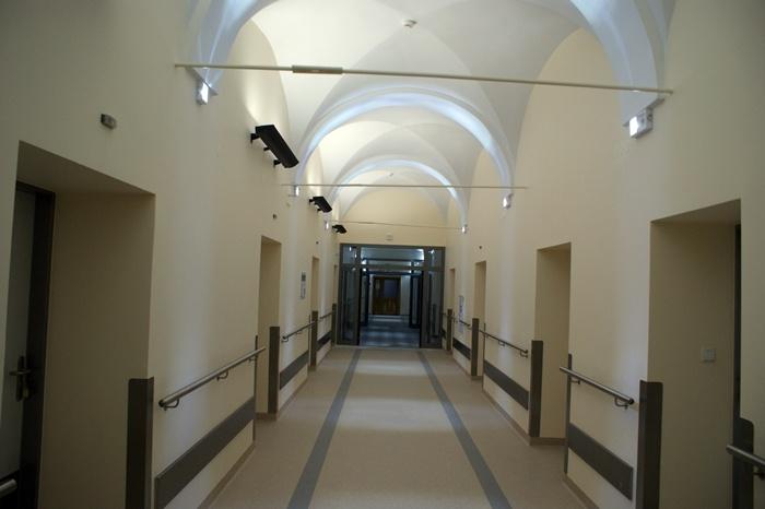 Oddział Chirurgii Urazowo-Ortopedycznej - Szpital Zakonu Bonifratrów w Katowicach - zakończenie inwestycji listopad 2012 rok