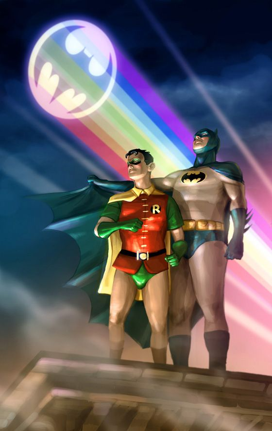 from Turner batman gay picture robin
