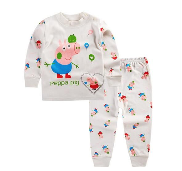Cool 2016 New Infant Girl Clothes Boys Pajama Sleep Coats Set Baby Girl Cute Pajamas Suit Newborn Baby Girl Soft Cotton Underwear - $12.93 - Buy it Now!