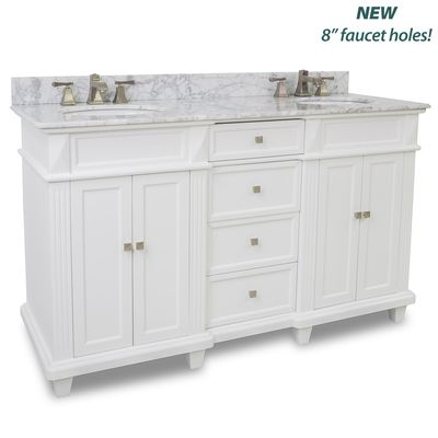 Bath Furniture Elements Vanities VAN094D 60 T MW