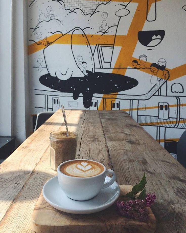tina we salute you, coffee shop london