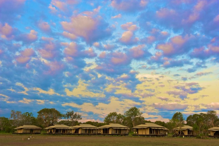 Wildman Wilderness Lodge comprises of a central lodge, 10 air-conditioned cabins ('Habitats') and 15 Safari Tents.