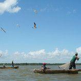Fishermen in Nicaragua, Laguna de Perlas