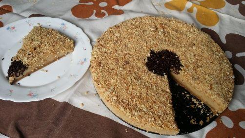 Tarta de turrón para #Mycook http://www.mycook.es/receta/tarta-de-turron/