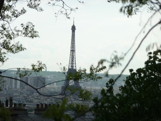 Culturefish! Tours: View of the Eiffel Tour