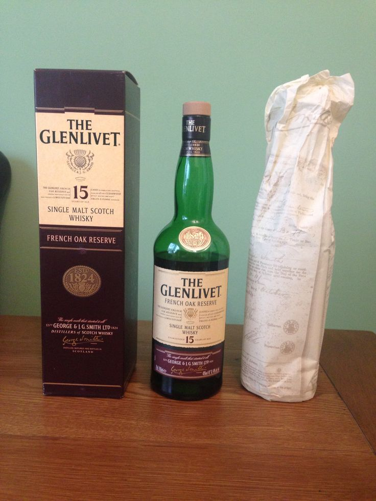 The Glenlivet - Aged 15 Years - Single Malt