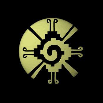 Maxima Deidad maya, creador de todo lo vivo, según los mayas era tan poderoso que era algo así como prohibido pronunciar su nombre…  HU NAP HU…  denominado Hanub ku , simboliza el principal dios de la mitología maya ,considerado el centro del universo , corazón y mente del espíritu creador.