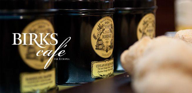 Birks Café - Brunch & Thé | Maison Birks - Site Officiel