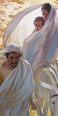 LIFE OF CHRIST ART EXHIBIT: Church History website (history.lds.org) has online art exhibits about the life of Christ