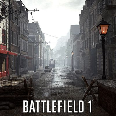 Battlefield 1 - Amiens, Oscar Johansson on ArtStation at https://www.artstation.com/artwork/qbDqy