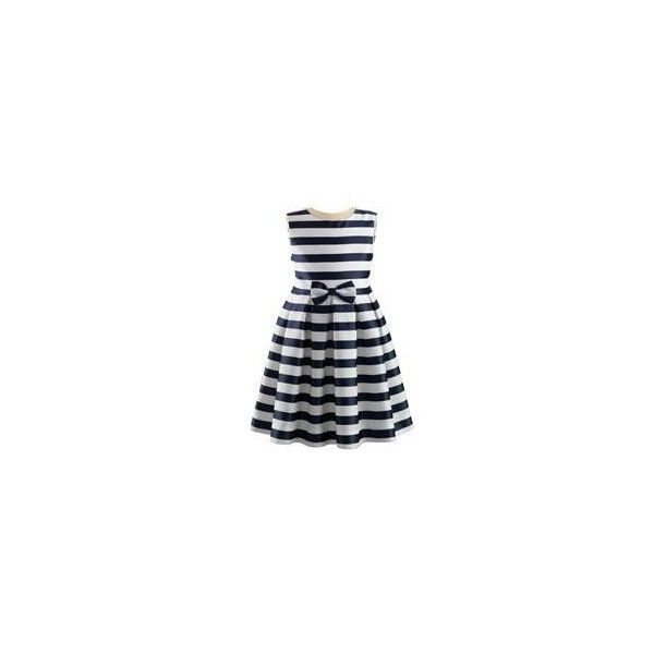 Striped Damask Party Dress ❤ liked on Polyvore featuring dresses, damask dress, damask print dress, striped dress, striped cocktail dress and stripe dresses