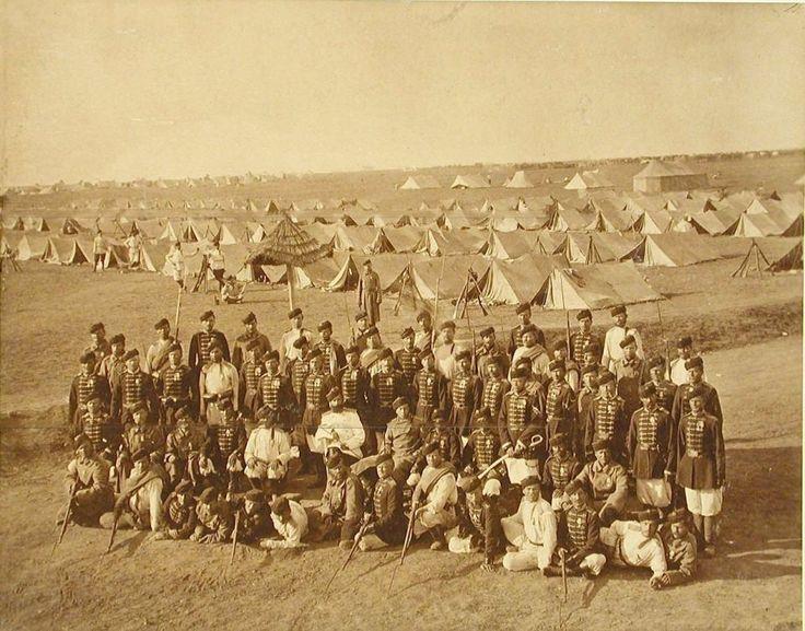 Rus arşivinden 1878 yılında İstanbul sayfa - 8-------San Stefano'da (Yeşilköy) kamp kuran Ruslar