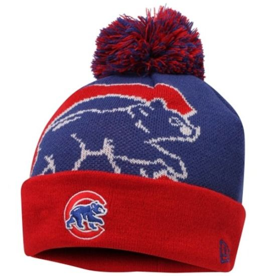 Chicago Cubs Woven Biggie 2 Knit Cap by New Era $19.95 #ChicagoCubs