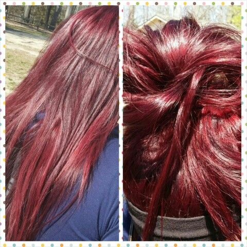 Loreal HiColor Red Hot & Intense Red.. realllllly pretty in person!!