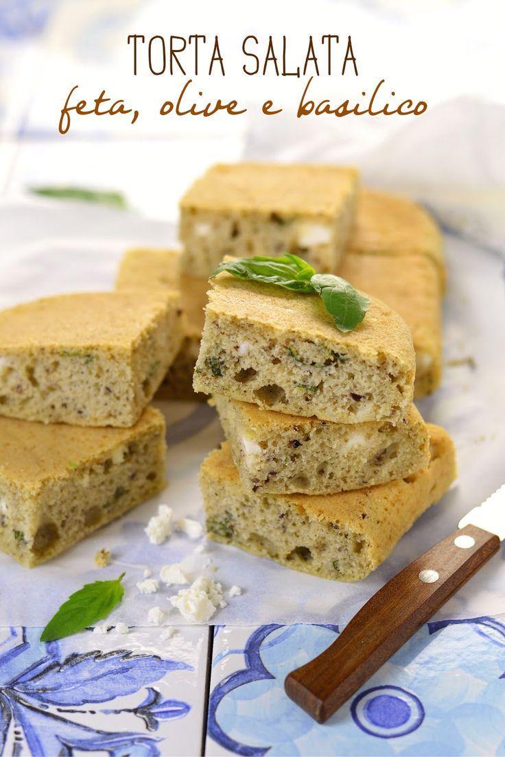 Sprinkles Dress: Torta salata feta, olive e basilico