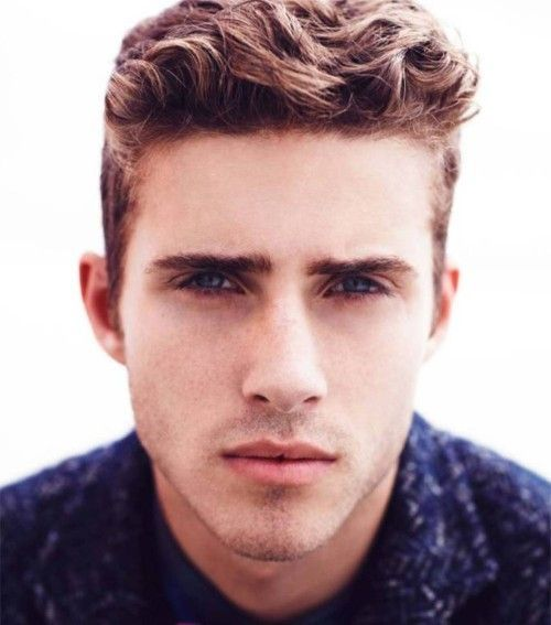 mens wavy hairstyles - Google Search