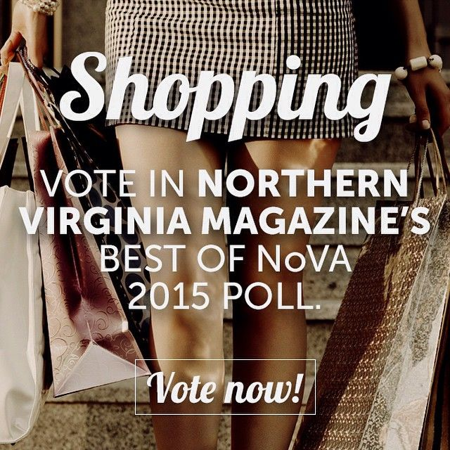 Where is the best place for some #RetailTherapy in #NoVA? | Let us know and cast your vote in our Best of NoVA polls today! | Link in profile #Shopping #WomensBoutique #SkinandBeauty #MensClothing #VintageBoutique #Accessories #EverydayJewelry #FineJewelry #Lingerie #RunningGear #FitnessClothing #VintageHomeFinds #KitchenStore #Bikes #Furniture