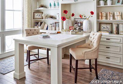 best 25 partners desk ideas on pinterest. Black Bedroom Furniture Sets. Home Design Ideas