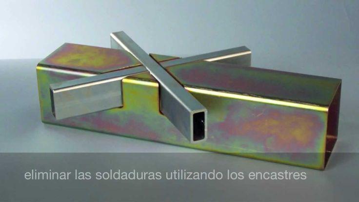 Tubos en acero | estructura innovadora con encastres