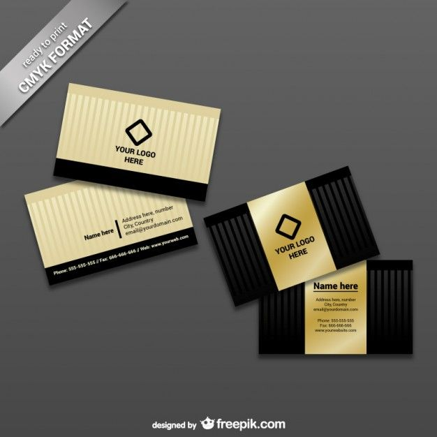 Ready To Print Business Card Template Fr Free Vector Freepik Freevector Busin Printing Business Cards Business Card Template Psd Business Card Template