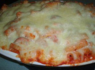 Kielbasa Pasta Casserole