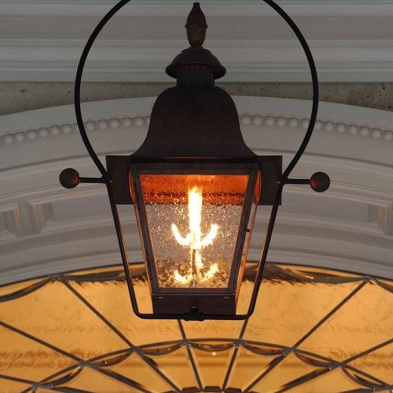 Natural gas outdoor lighting fixtures outdoor lighting ideas ina lanterns offers the finest gas and copper lighting for your home or business our wide aloadofball Images