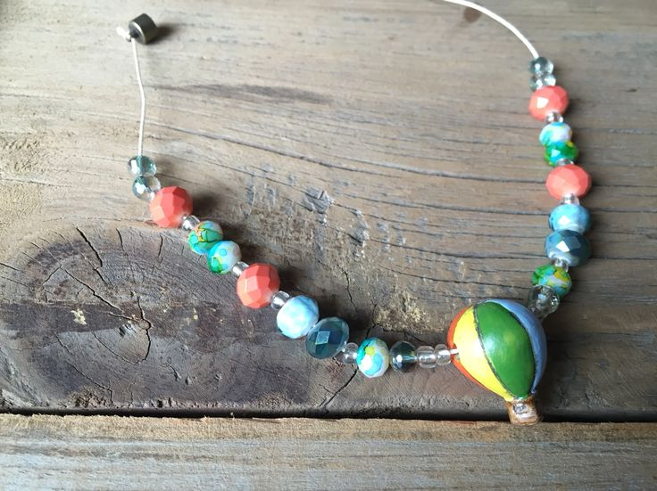 "Toddler #HopeEffectBeads ""Up"" necklace by Smitten By Shiloh on etsy & Instagram"