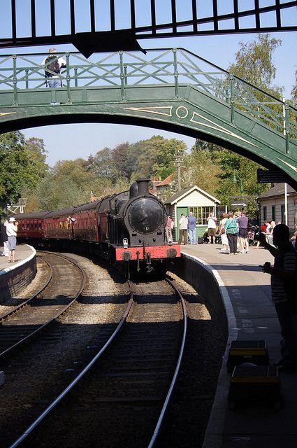 Pickering Station, North York Moors Railway, England