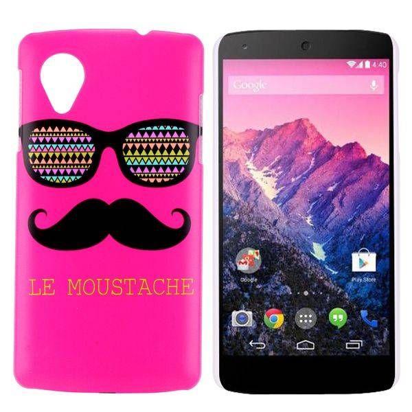 Moustache hardcase hoesje voor de LG Nexus 5